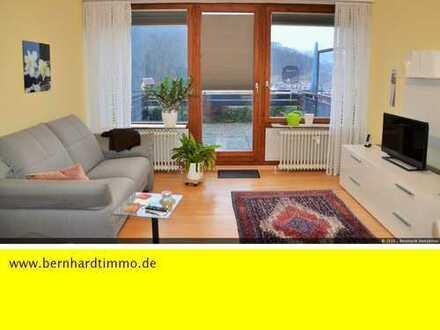 Reserviert - 1- Zimmer-Wohnung mit Terrasse und phantastischem Panoramablick