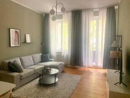 Möblierte 2 Zimmer Wohnung mit Balkon im Prenzlauer Berg - frei ab sofort