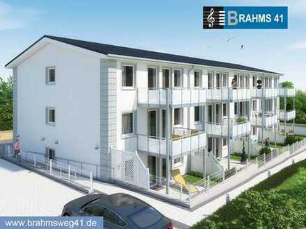 Luxuriöse 2-Zi. mit Balkon im Neubau