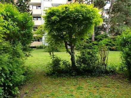 Ein Stück Oase in Feudenheim - frisch renovierte 1ZKB mit Garten im EG