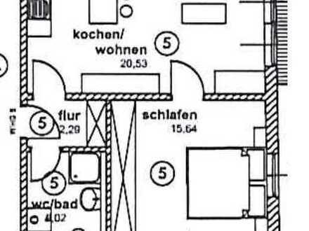 Wohnung im sehr gehobenen Stil - 44 qm