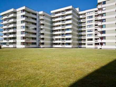 Sonnige und optimal geschnittene 3-Zimmer Wohnung mit Südbalkon