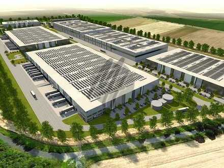 KEINE PROVISION ✓ NEUBAU ✓ Lager-/Logistik (68.000 m²) & Büro (2.000 m²) zu vermieten