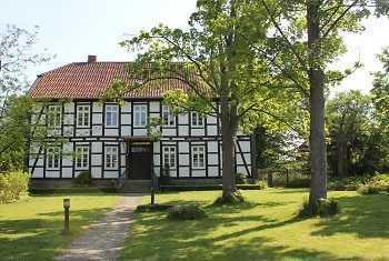 Wohnung mit großem Garten im Pfarrhaus