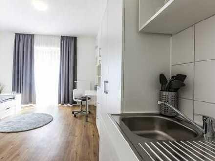 Neubau Studentenwohnheim / modernes vollmöbliertes Einzelappartement