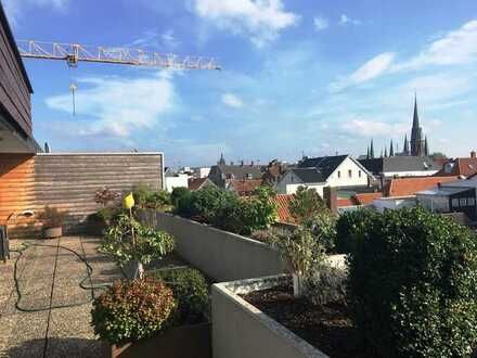 CENTURY21: Traumhafte Penthouse Wohnung mit Blick über die Dächer Oldenburgs
