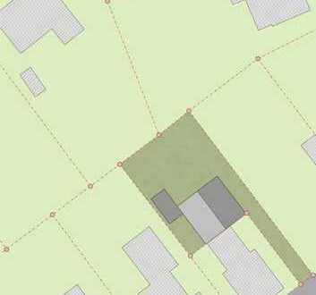 Grundstück mit genehmigten Anbau in zentraler Lage von Aurich