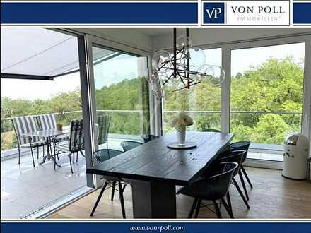 Sonniges Penthouse mit luxuriöser moderner Ausstattung, Blick, Aufzug und Tiefgaragenplätzen