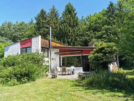 Idyllisches wohnen, in absoluter Ruhe, naturnah, direkt am Waldrand - EFH in Zang