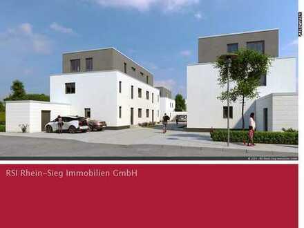 Neubau von 8 modernen Einfamiliendoppelhaushälften in Königswinter-Uthweiler!
