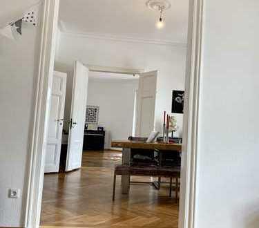 Altbau mit Stuck, hohe Wände, Nordend-West, City-Nah, 157 m², 4 Zimmer zum 1. Mai