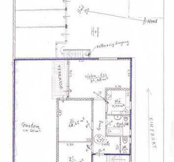 großzügige 3-Zimmer-Wohnung mit EBK, Hobbyraum & Doppelgarage