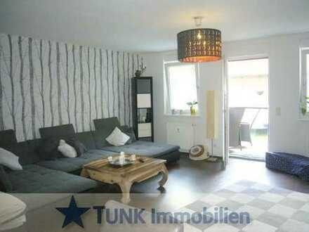 5 Zi.-Wohnung mit Balkon, Terrasse u. Garten in Karlstein