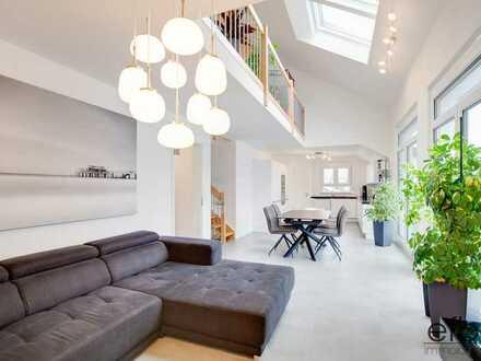 Eigentumswohnung der Extraklasse: 5 Zimmer mit Galerie und Dachterrasse in Waldbronn-Busenbach