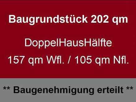 *** Lage: EF-Hochheim * Planung: vorhanden * Option: bauträgerfrei mit Baugenehmigung ***