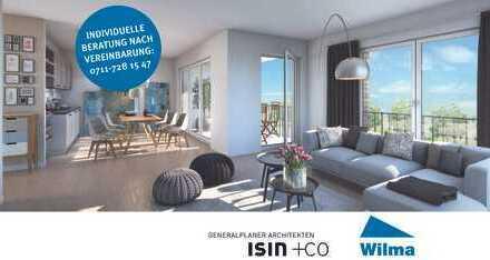 Stadtoval Aalen: Ideale 2-Zimmer-Wohnung mit südlicher Loggia und perfektem Grundriss