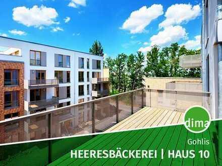 ERSTBEZUG   NEUBAU   Heeresbäckerei   Haus 10   großer Balkon   2 Bäder   Tiefgarage   Keller