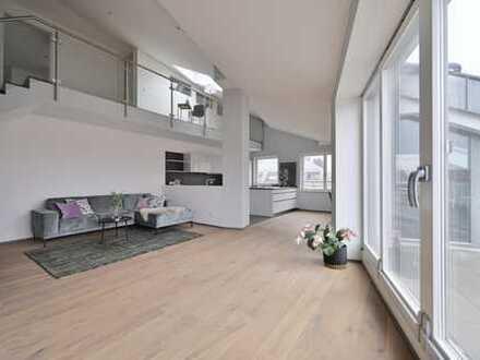 Exklusive, neuwertige Dachterrassen-Wohnung, 3 Zimmer, Altstadt, Lift, TG