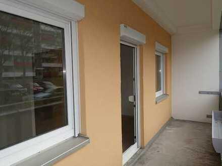 gut geschnittene 1-Raum-Wohnung mit Balkon