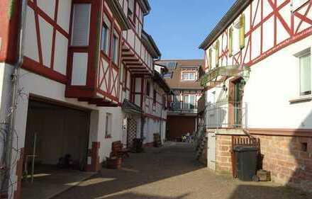 Mehrfamilienhaus in einer Bauernhausanlage. Büdingen-Aulendiebach