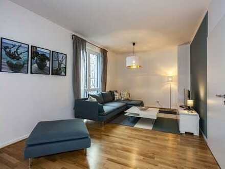 Erstbezug am Waldplatz: Familienwohnung | 2 Bäder | Balkon zum Innenhof | TG-Platz