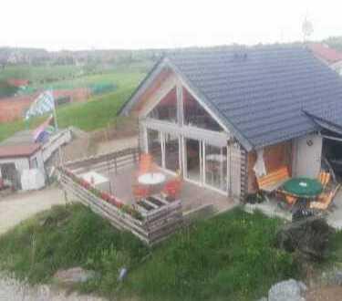 Gemütliches Haus im Ostallgäu , in einer kleinen Wohnanlage ,traumhafte Aussicht.