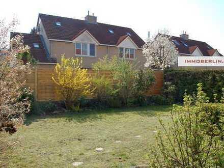 IMMOBERLIN: Absolut überzeugende Doppelhaushälfte mit Südwestgarten