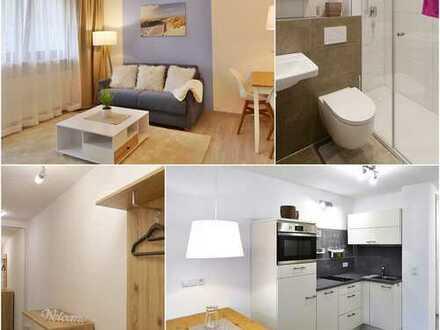 Schickes voll möbliertes und ausgestattetes Appartement