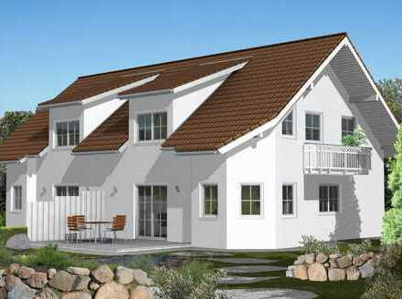 Neubau Doppelhaushälfte Massiv. Planung frei