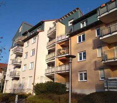 Dachgeschoss-Maisonette-Wohnung mit Balkon, EBK und tollem Ausblick in Rathenow