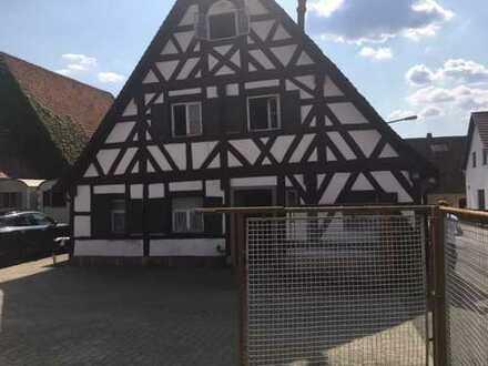 SchönesDenkmalgeschütztes -Fachwerkhaus 18.Jhdt.Incl.Anbau u.Halle 90425 Nürnberg Kleinreuth h.d.V.