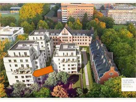 NEUBAU 2 Zimmer Wohnung am UKE mit Loggia in Südwest-Innenhoflage Hamburg-Hoheluft-Ost