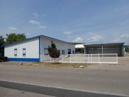 ++NEU IM ANGEBOT++ Gewerbeimmobilie (Büro-Produktion-Werkstatt-Lager) in Eimeldingen