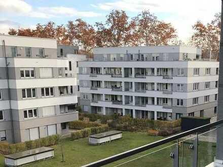 **RES.**Gepflegte Eigentumswohnung mit direktem Rheinblick in gehobener Wohnanlage am Rheinufer Süd