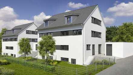 Neubau einer exklusiven DHH am Birkenberg/Landshut (Haus Nr. 1)