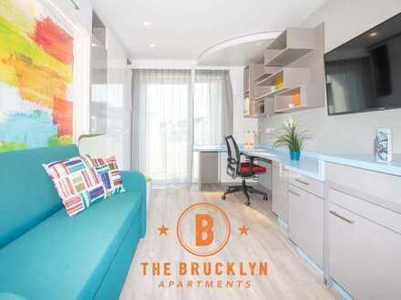Möblierte Lifestyle-Apartments mit Gym, Sauna, Pool, Kino & Gemeinschaftsräumen
