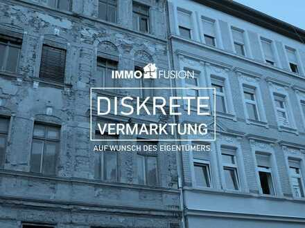 Leerstehendes Mehrfamilienhaus inkl. Bauantrag für 2-etagige Aufstockung in Prime-Lage HBF Leipzig