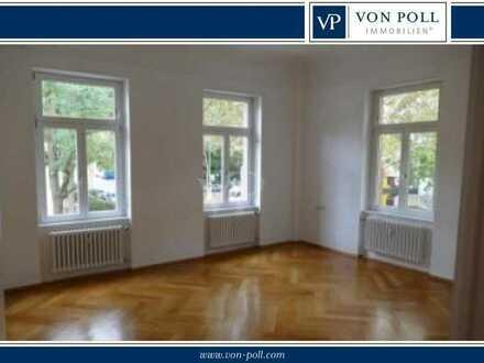 Schöne, sanierte 3-Zimmer-Altbauwohnung im 1. Obergeschoss mit Balkon!! Mannheim Herzogenried