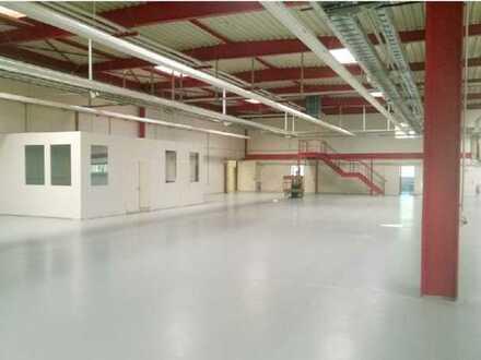 *1.697 m² Produktionsfläche optional Sozial- und Büroräume*