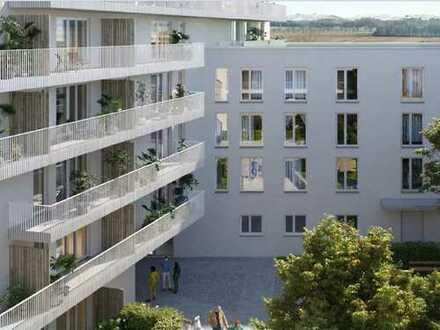 Urbanes Wohnen in Germering! Moderne 3-Zimmer-Wohnung mit Süd-Balkon in schöner Umgebung