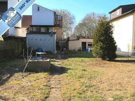 Großes Grundstück mit bestehendem renovierungsbedürftigem Haus in Bobenheim-Roxheim