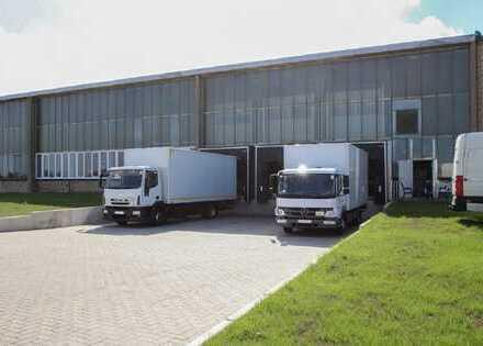 Seltene Lager-/Produktionsfläche mit Büro im LLOYD INDUSTRIEPARK