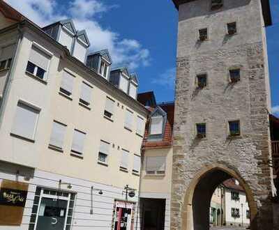 2-Zimmer-Wohnung direkt am Gänsturm in Weikersheim