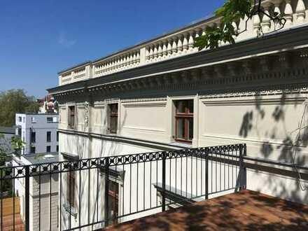 ++Exklusive Wohnung im Zentrum++4 Zimmer im DG mit Fußb.-heizung, Terrasse u.v.m.++(WE 7)