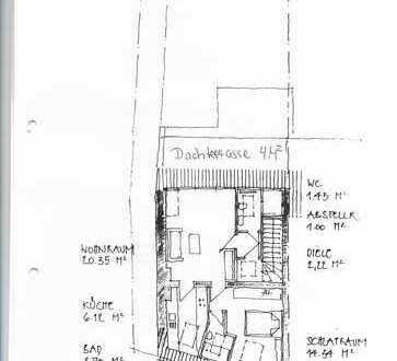 Bonn-Zentrum: Charmante 2-Zimmer-Wohnung mit grosszügiger Dachterrasse