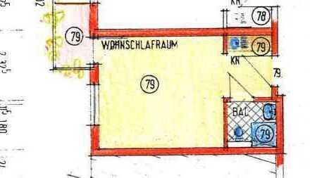 Renditestarkes 1 Zimmer- Appartment in Seniorenresidenz