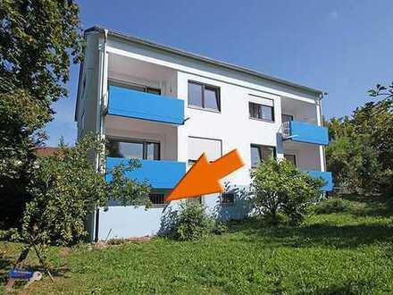 1 Zimmer EG Wohnung mit Garten und Autoabstellplatz