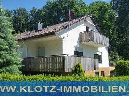 Urlaub zu Hause - Großzügiges 1-2 Familienhaus in herrlicher Waldrandlage