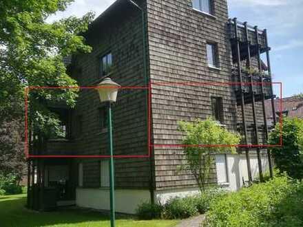 Helle zentralgelegene 3,5-Zimmer-Wohnung mit 2 Balkonen in Bad Dürrheim