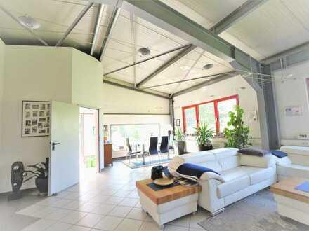 SCHWIND IMMOBILIEN - der Mix macht´s: Wohnen, Produktion und Lagerfläche in einer Top-Immobilie
